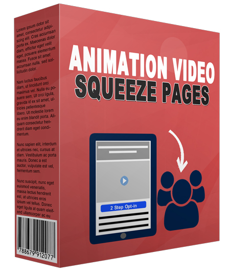 03 Animation Video Squeeze Pages