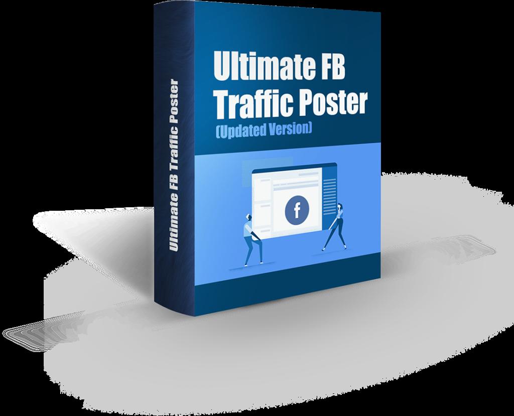 Ultimate FB Traffic Poster