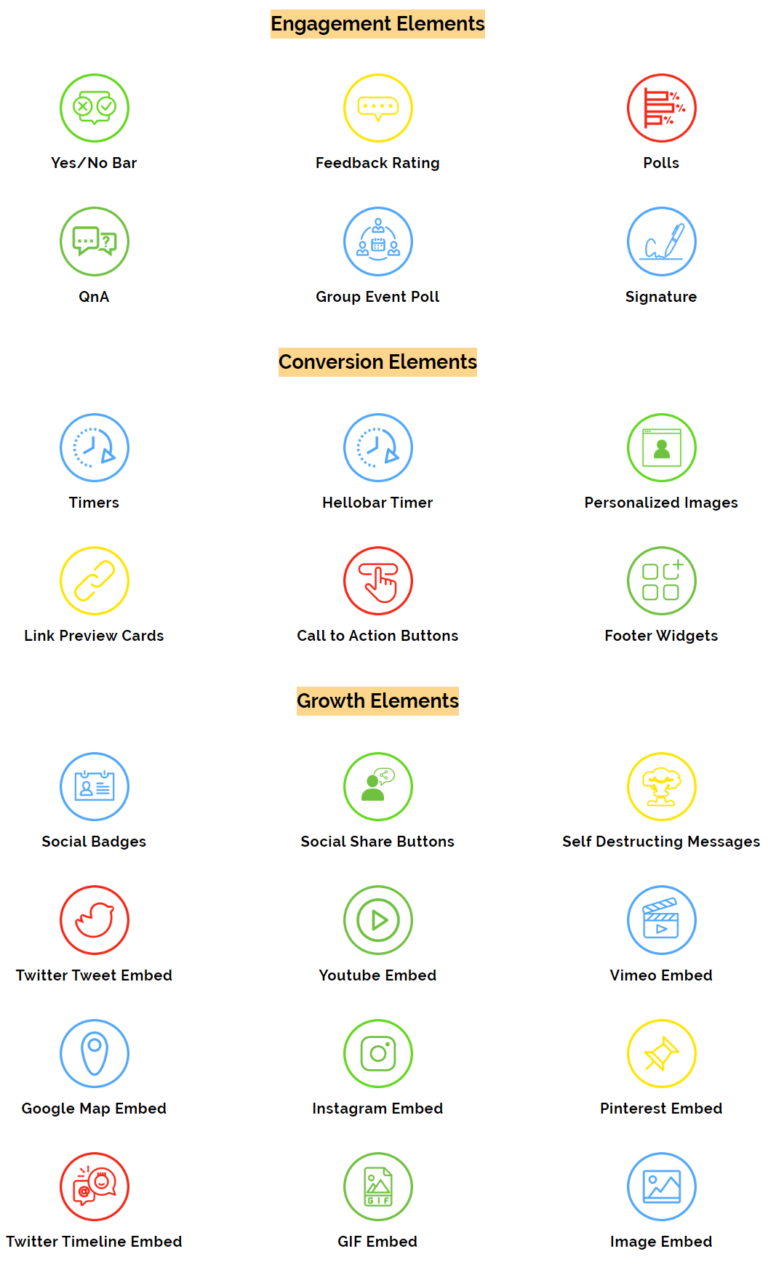Mailengaex features